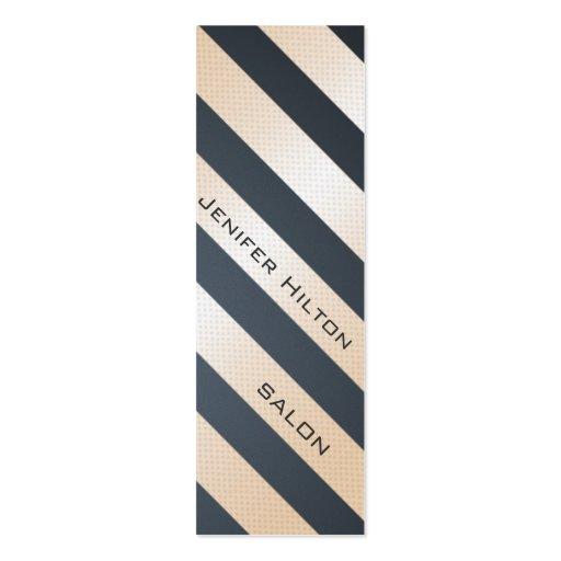 Professional elegant gentle modern shiny stripes business card