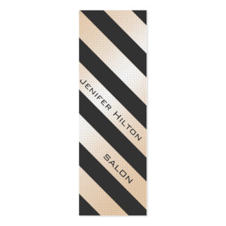 Professional elegant gentle modern shiny stripes business card template