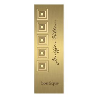 Professional elegant luxury golden look business cards