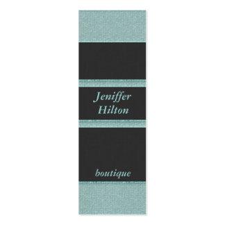 Professional elegant modern glittery stripes business card template