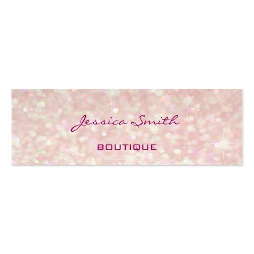 Professional elegant modern luxury glitter bokeh business card templates
