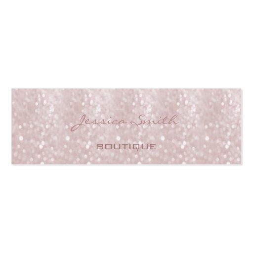 Professional elegant modern luxury glitter bokeh business cards