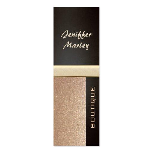 Professional elegant modern luxury glittery business cards