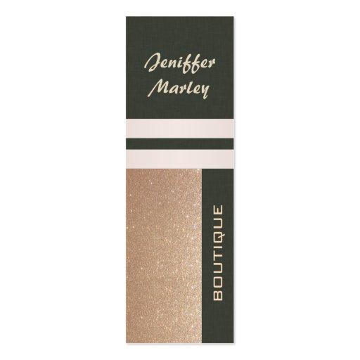 Professional elegant modern luxury glittery business card templates