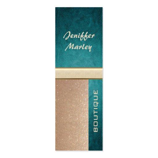 Professional elegant modern luxury glittery business card template