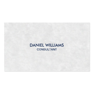 Professional Elegant Modern Minimal Parchment Pack Of Standard Business Cards