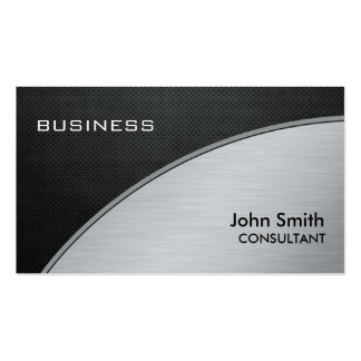 Professional Elegant Modern Silver Computer Repair Pack Of Standard Business Cards