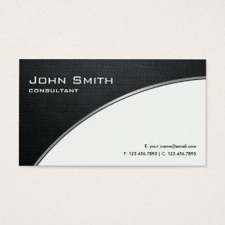Professional Elegant Modern White Computer Repair Business Card