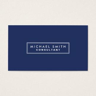Professional Elegant Plain Simple Modern Blue