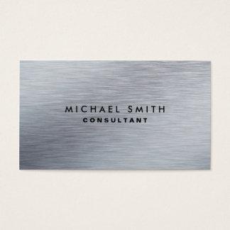 Professional Elegant Silver Metal Modern Plain