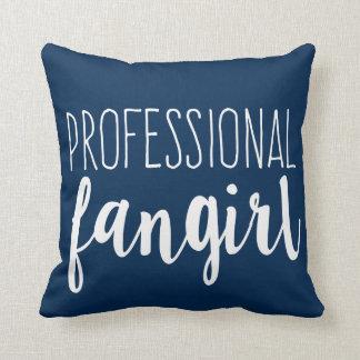 Professional Fangirl Reversible Pillow