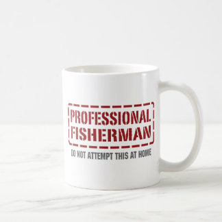 Professional Fisherman Coffee Mugs