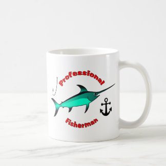Professional Fisherman Coffee Mug