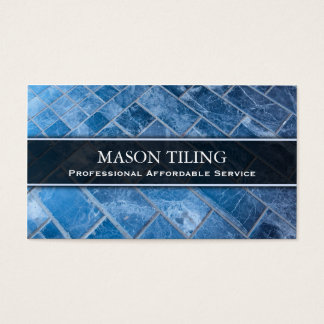 Professional Flooring and Tiler - Business Card