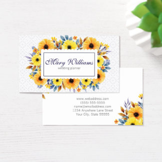 Professional Floral Business Card