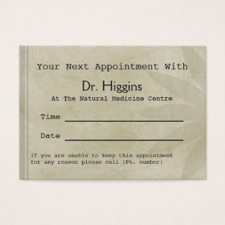 Professional Floral Medical Dental etc Appointment