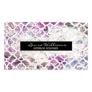 Professional Floral Smart Pack Of Standard Business Cards
