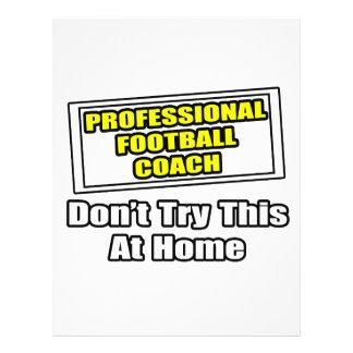 Professional Football Coach.. Flyers