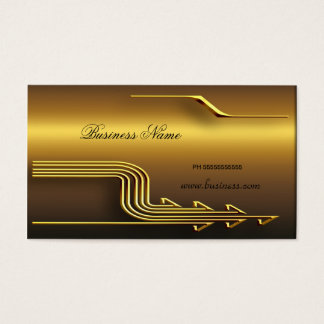 Professional Gold Look Elegant Classy Business