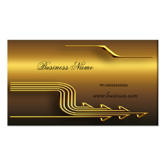Professional Gold Look Elegant Classy Business Pack Of Standard Business Cards