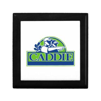 Professional Golfer and Caddie Retro Gift Box
