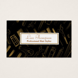 Professional Hair Stylist / Beauty Salon Card