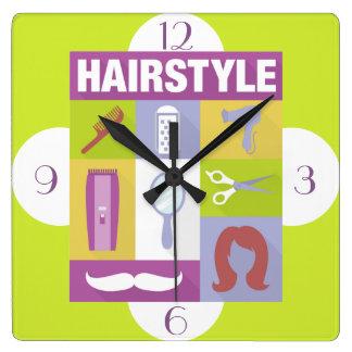 Professional Hair Stylist Iconic Designed Clock
