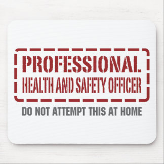 Professional Health and Safety Officer Mouse Pad