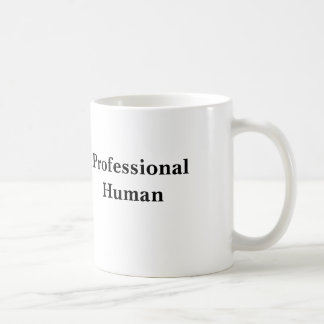 Professional Human Basic White Mug