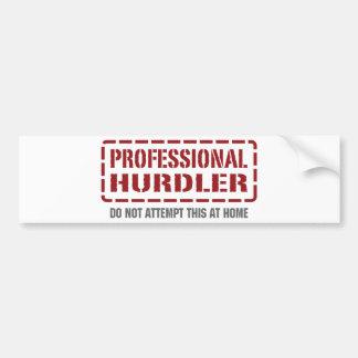 Professional Hurdler Bumper Stickers