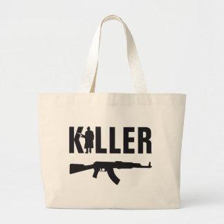 professional killer tote bag