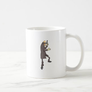 Professional Killer Dangerous Criminal Outlined Coffee Mug