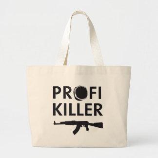 professional killer jumbo tote bag