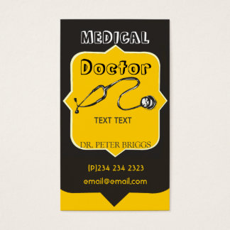 Professional-Looking Medical Doctor Business Card