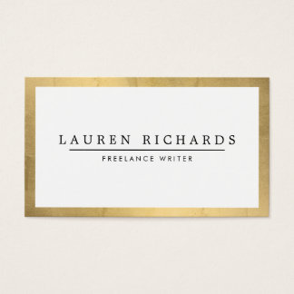 Professional Luxe Faux Gold and White