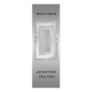 Professional luxury elegant modern damask bokeh business card