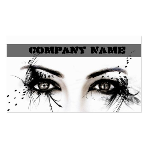 Professional Make-Up Artist / Makeup Business Card