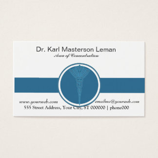 Professional  Medical Doctor Appointment Card
