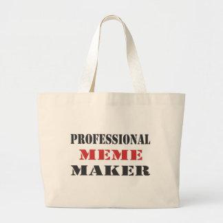 Professional Meme Maker Jumbo Tote Bag