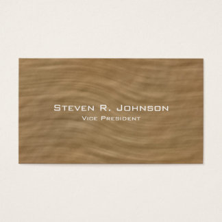 Professional Minimal Sandstone Look Business Cards