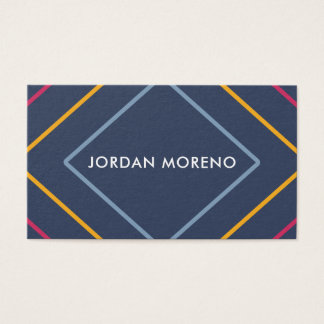 Professional Modern Colorful Line Business Cards