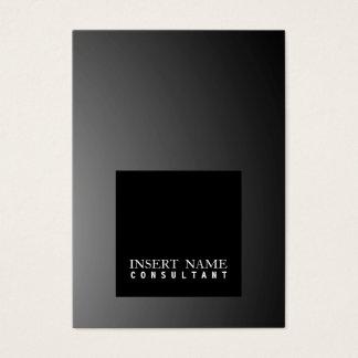 Professional Modern Elegant Black Square Smart