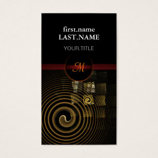 Professional Modern Elegant Cool Hypnosis Business Card