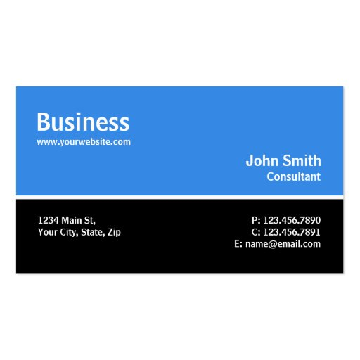 Professional Modern Plain Simple Computer Repair Business Card Templates