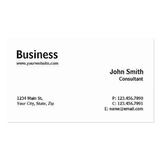 Professional Modern Plain Simple Computer Repair Pack Of Standard Business Cards
