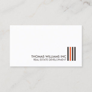 Architecture real estate development business cards zazzle au professional modern real estate building logo ii business card reheart Image collections