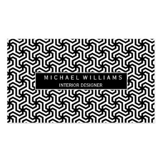 Professional Monochrome Smart Pack Of Standard Business Cards
