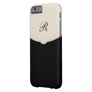 Professional Monogram Style Barely There iPhone 6 Case