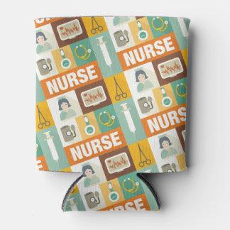 Professional Nurse Iconic Designed Can Cooler