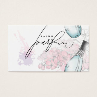 Professional Perfume Salon Beauty Fragrance Card